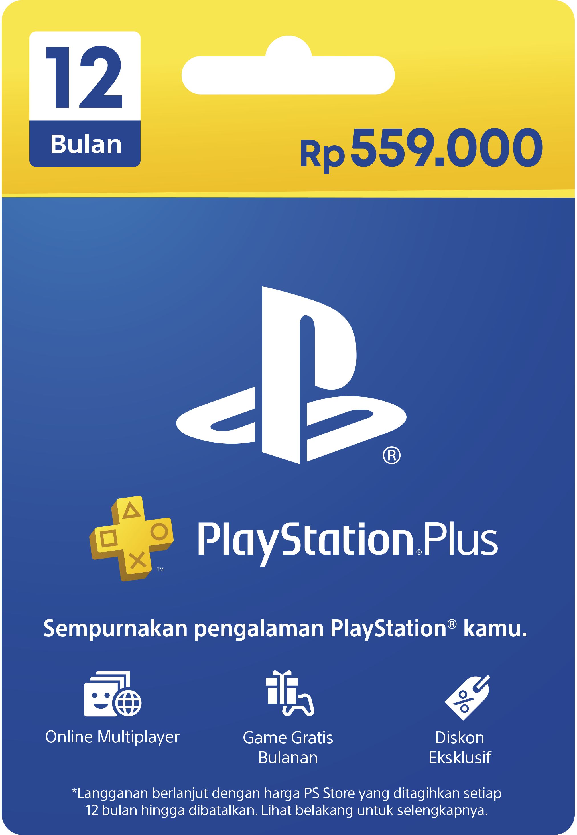 PlayStation Plus card image