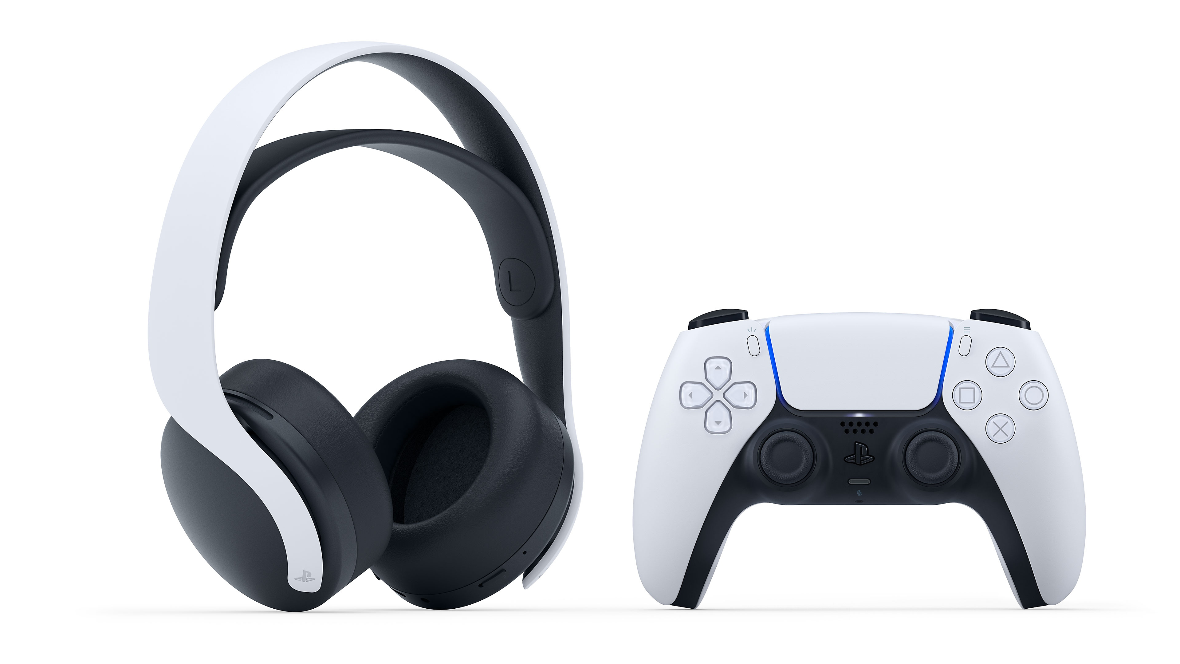 White headset and controller
