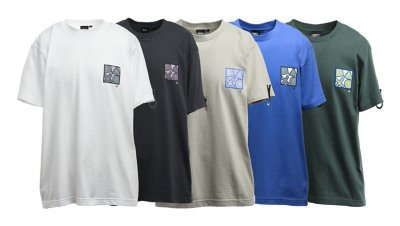 90'sテイスト バックプリントTシャツ / PlayStation