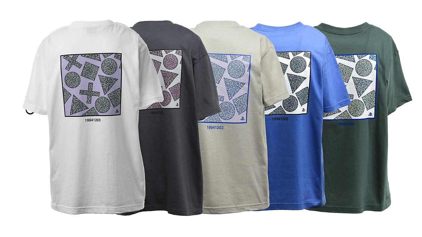 90'sテイスト バックプリントTシャツ / PlayStation Gallery Image 2
