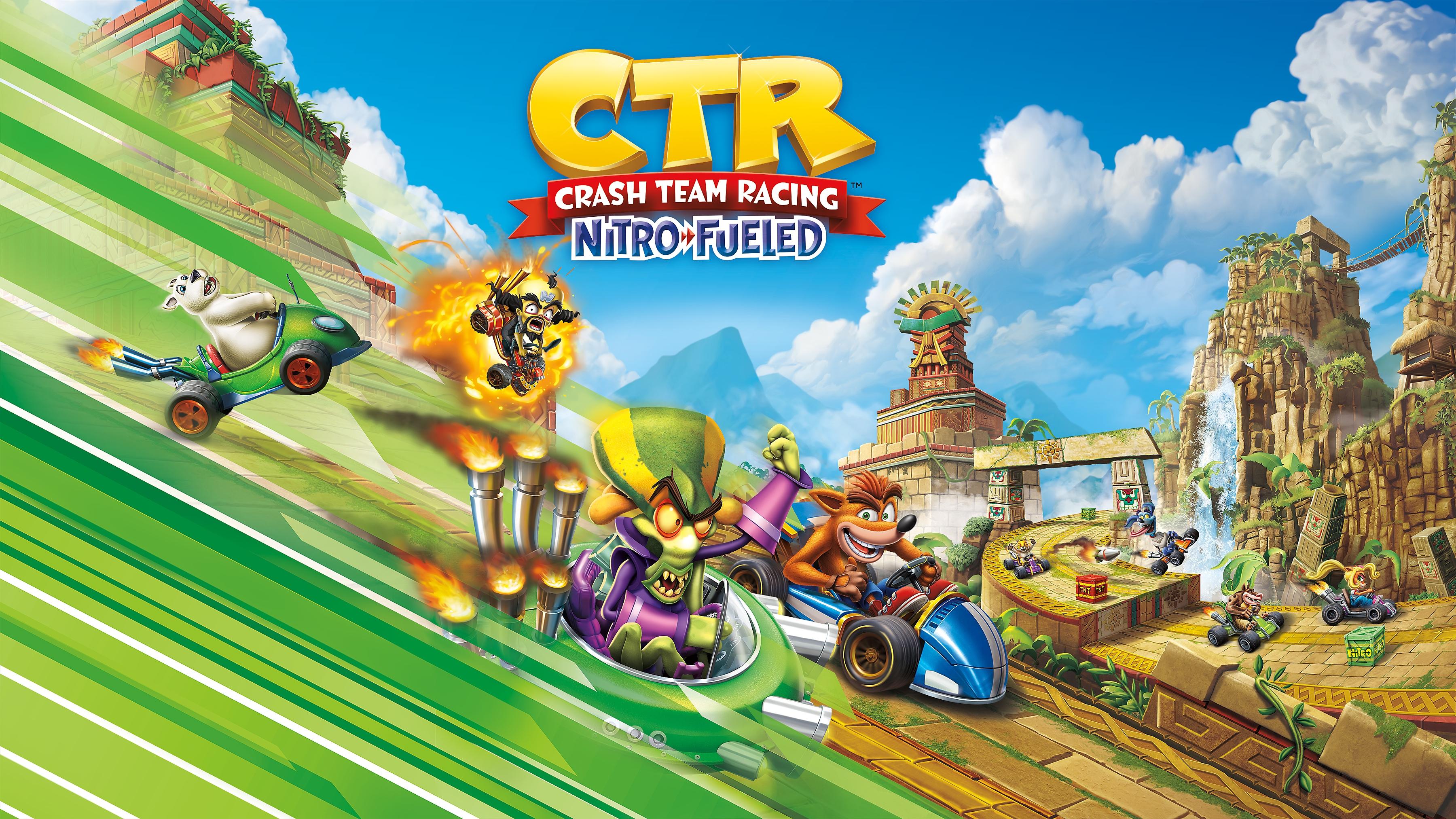 Crash Team Racing Nitro Fueled – Nitros Oxide Edition – packshot