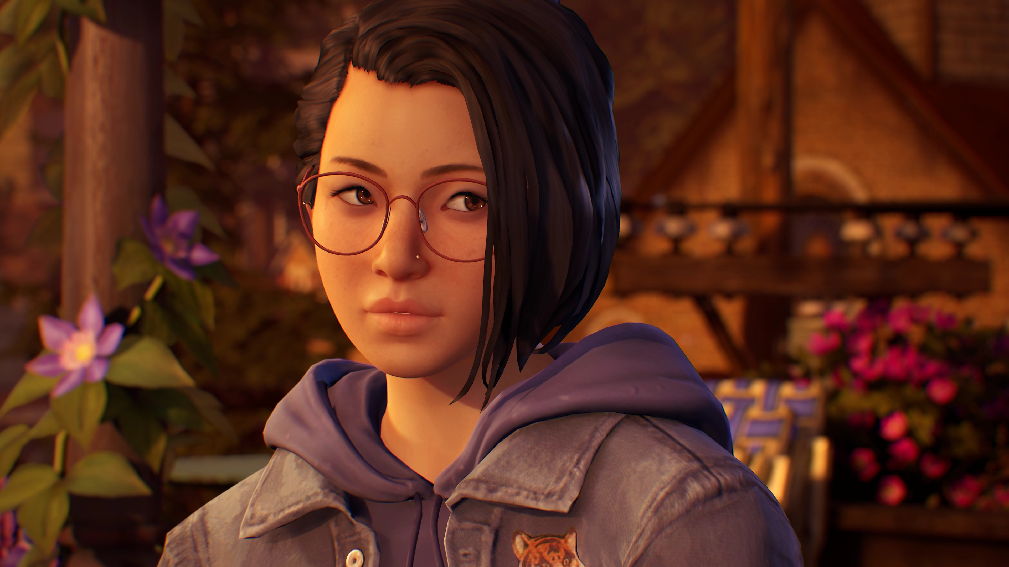 Life Is Strange True Colors screenshot showing the main character Alex Chen
