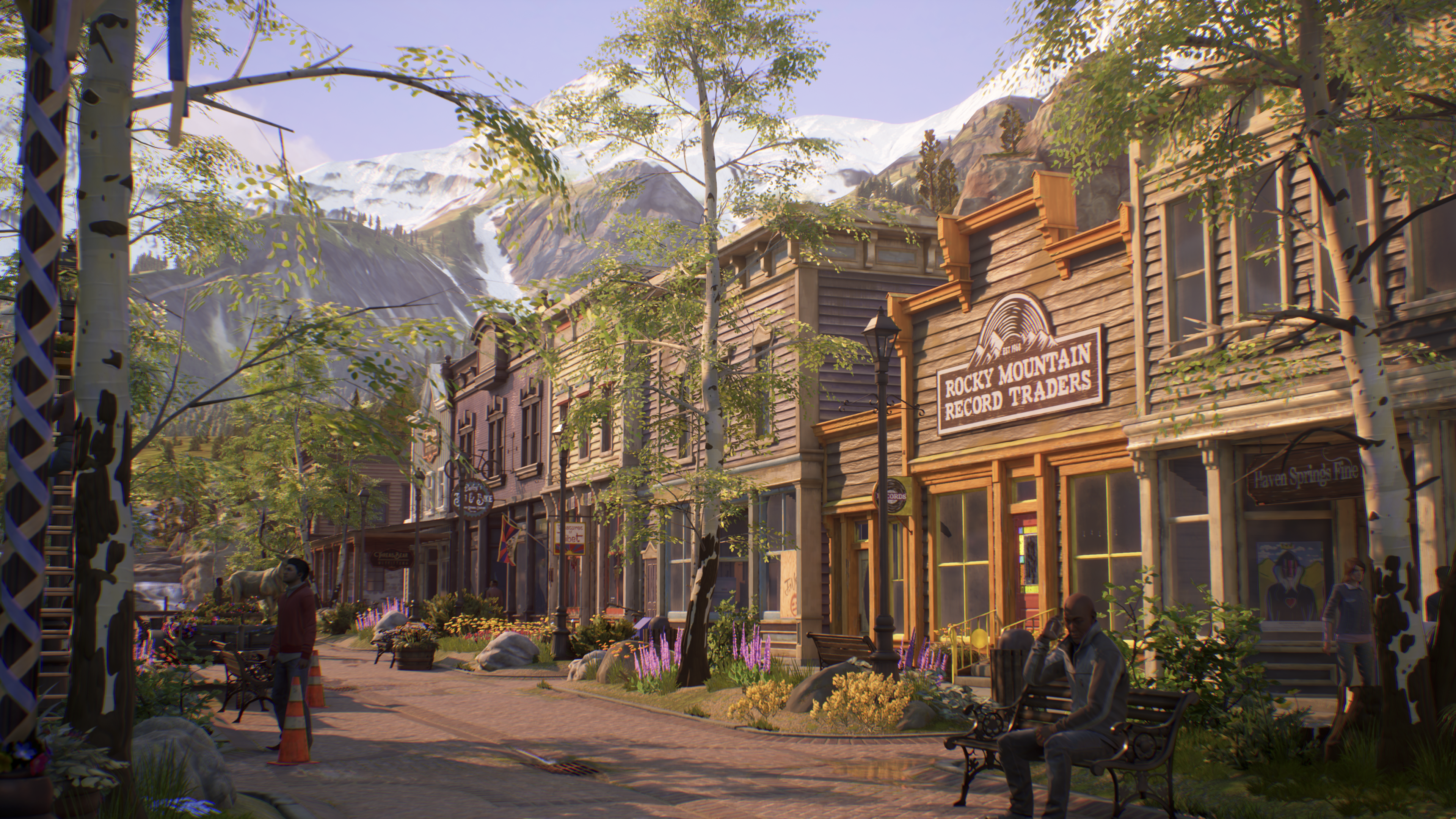 Life Is Strange True Colors screenshot of town
