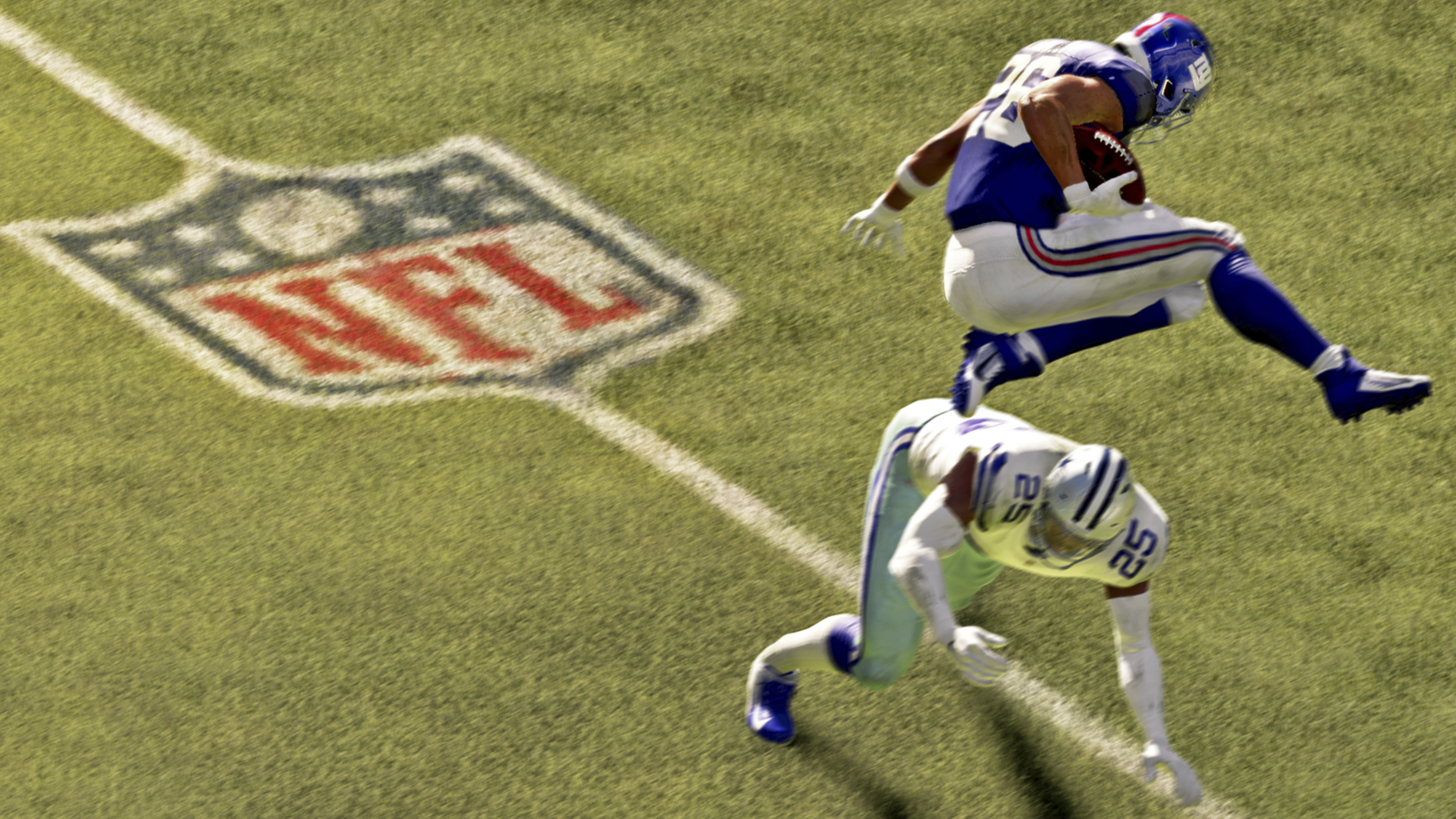 Madden NFL 21, screenshot van gameplay