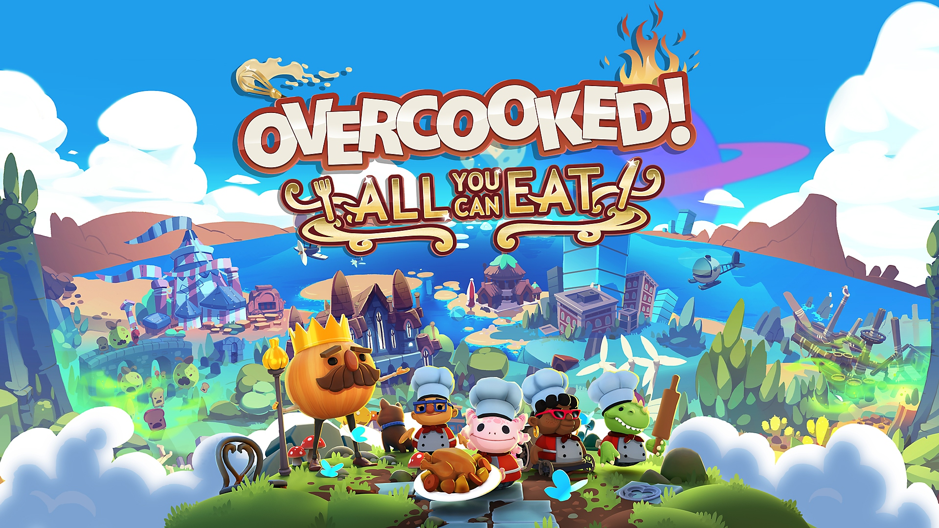 Overcooked! All You Can Eat - Launch Trailer | PS5