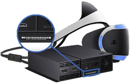 Locatie serienummer van PS VR