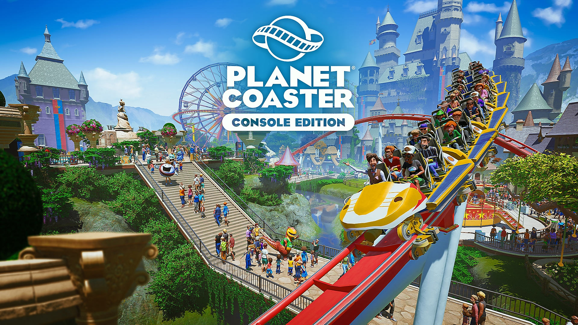 Planet Coaster: Console Edition - Launch Trailer | PS4, PS5