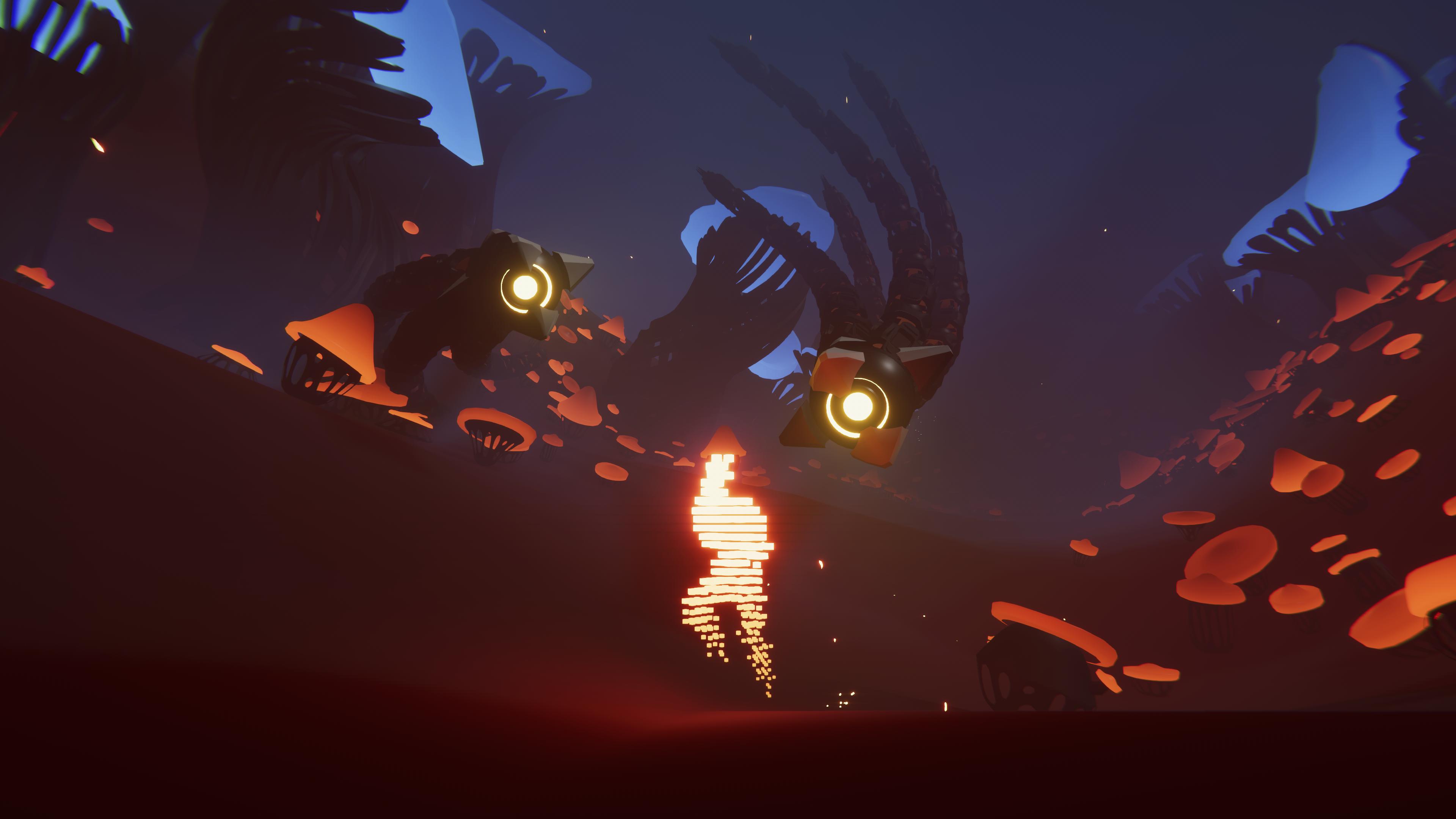 Istantanea della schermata di gioco di Recompile per PS5