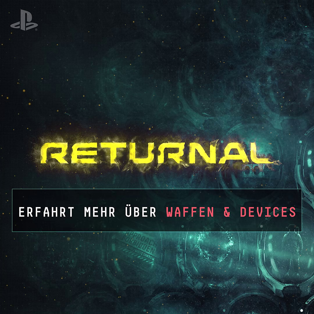 Die Waffen in Returnal Video