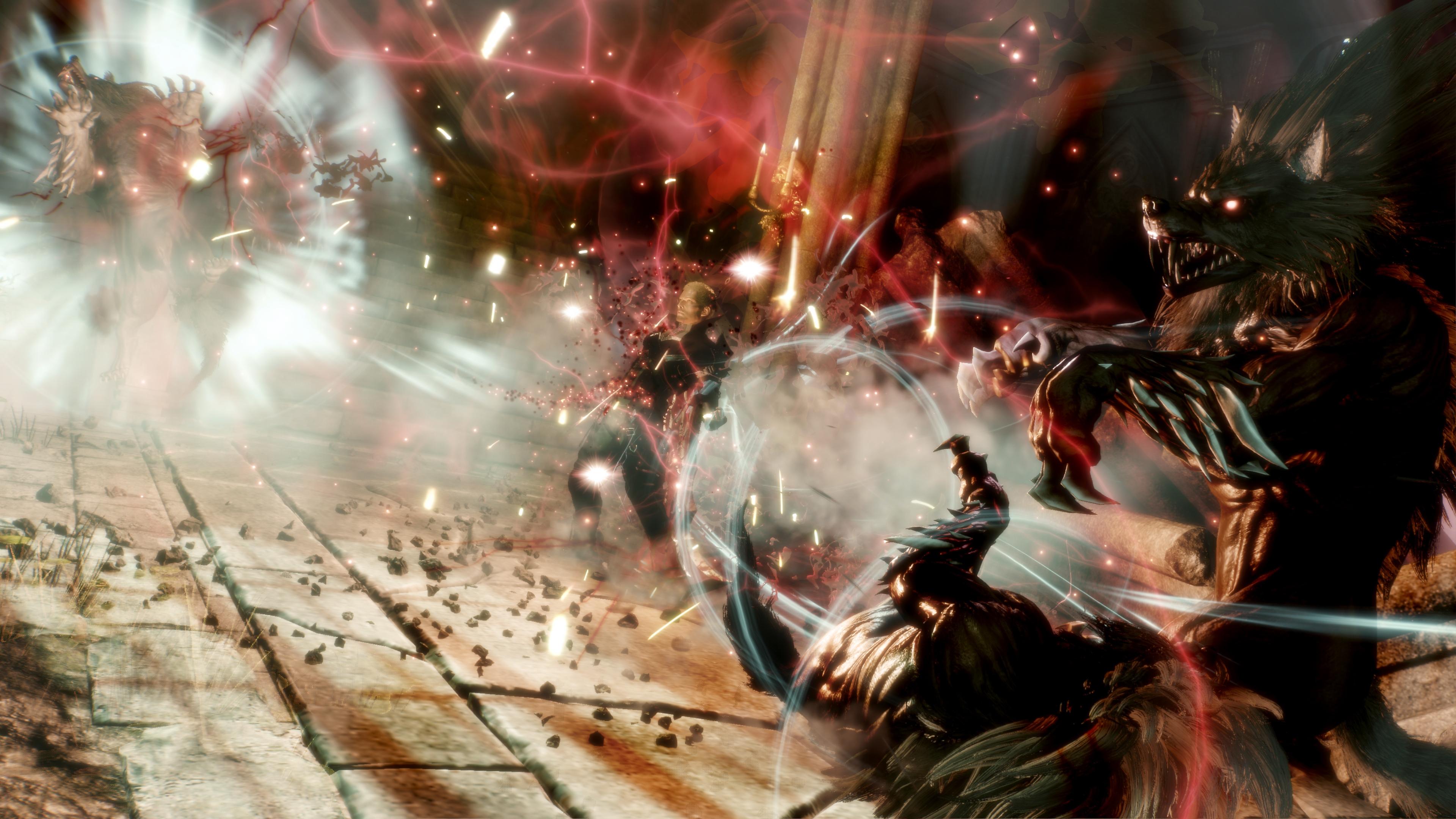 Stranger of Paradise: Final Fantasy Origin - Intense, gevarieerde gevechten screenshot