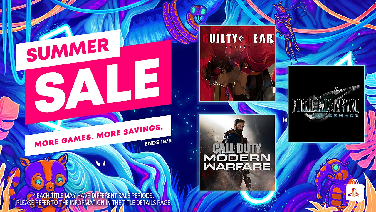 PlayStation Store Sale banner