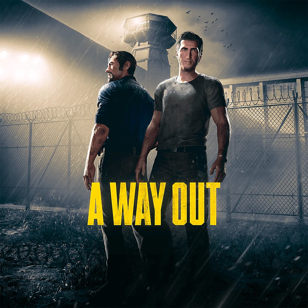 A Way Out – butiksomslag