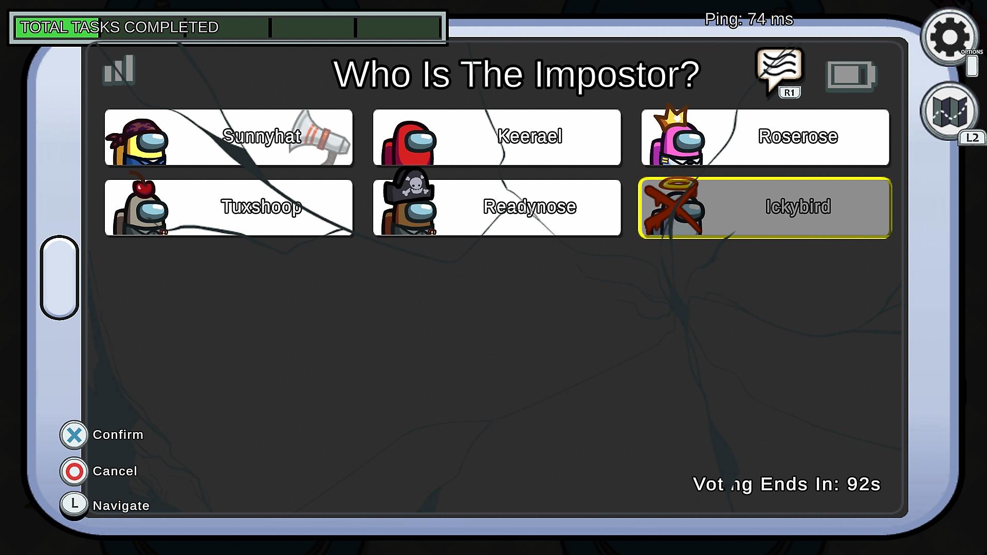 Among Us képernyőkép