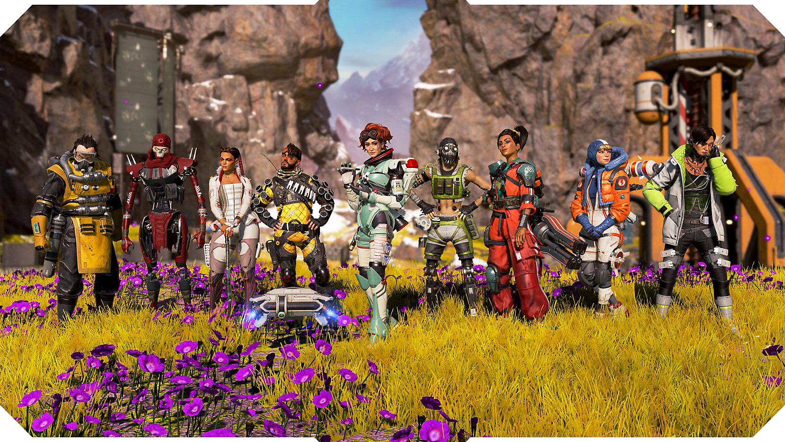 Screenshot of the Legends