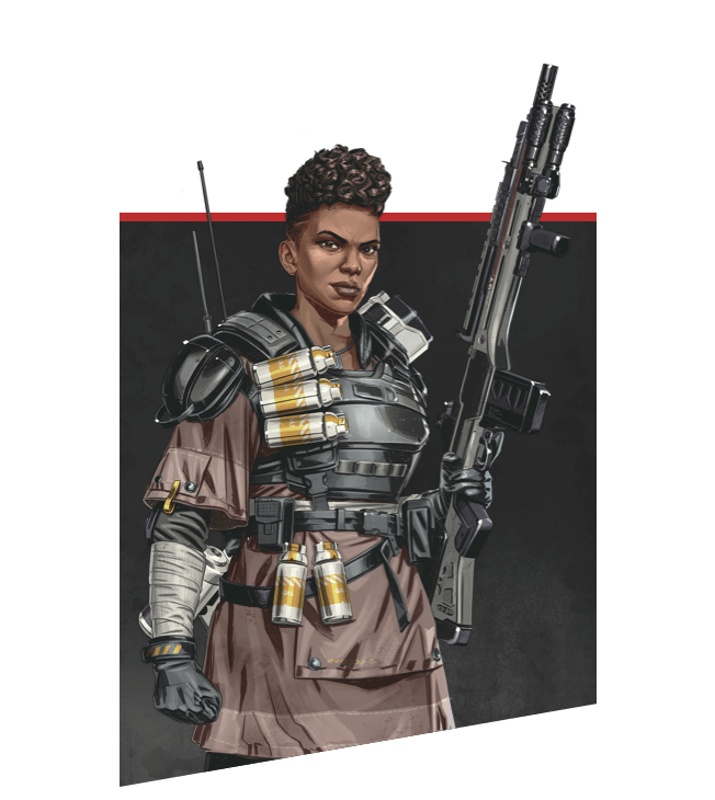 Apex Legends - Bangalore Character Portrait