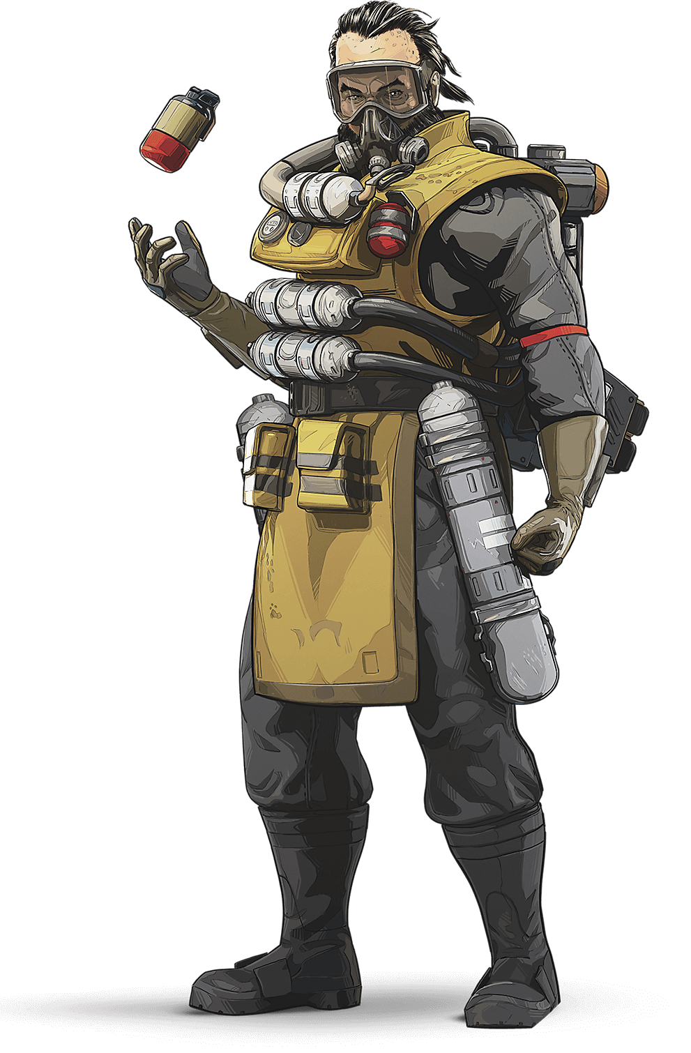 APEX Legends - Caustic Character Art
