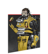 Apex Legends - Caustic portret lika