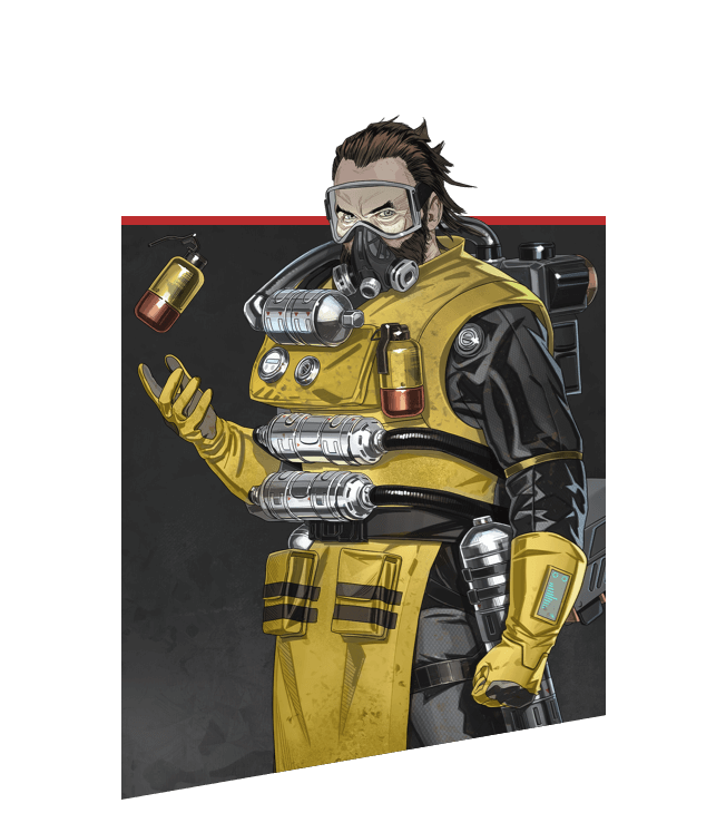 Apex Legends - Retrato de Caustic