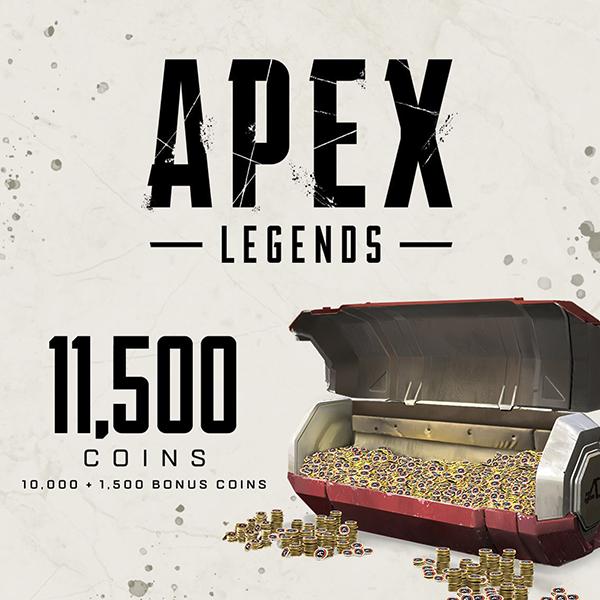 APEX Legends - 11,500 APEX Coin - งานศิลป์ร้านค้า