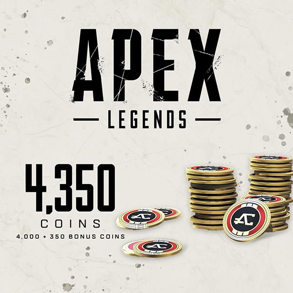 APEX Legends - 4350 APEX Coin - งานศิลป์ร้านค้า