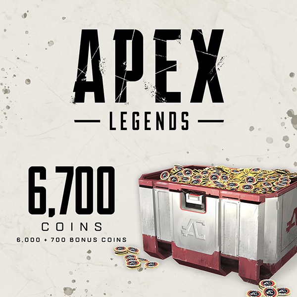 APEX Legends - 6700 APEX Coins - Store Art