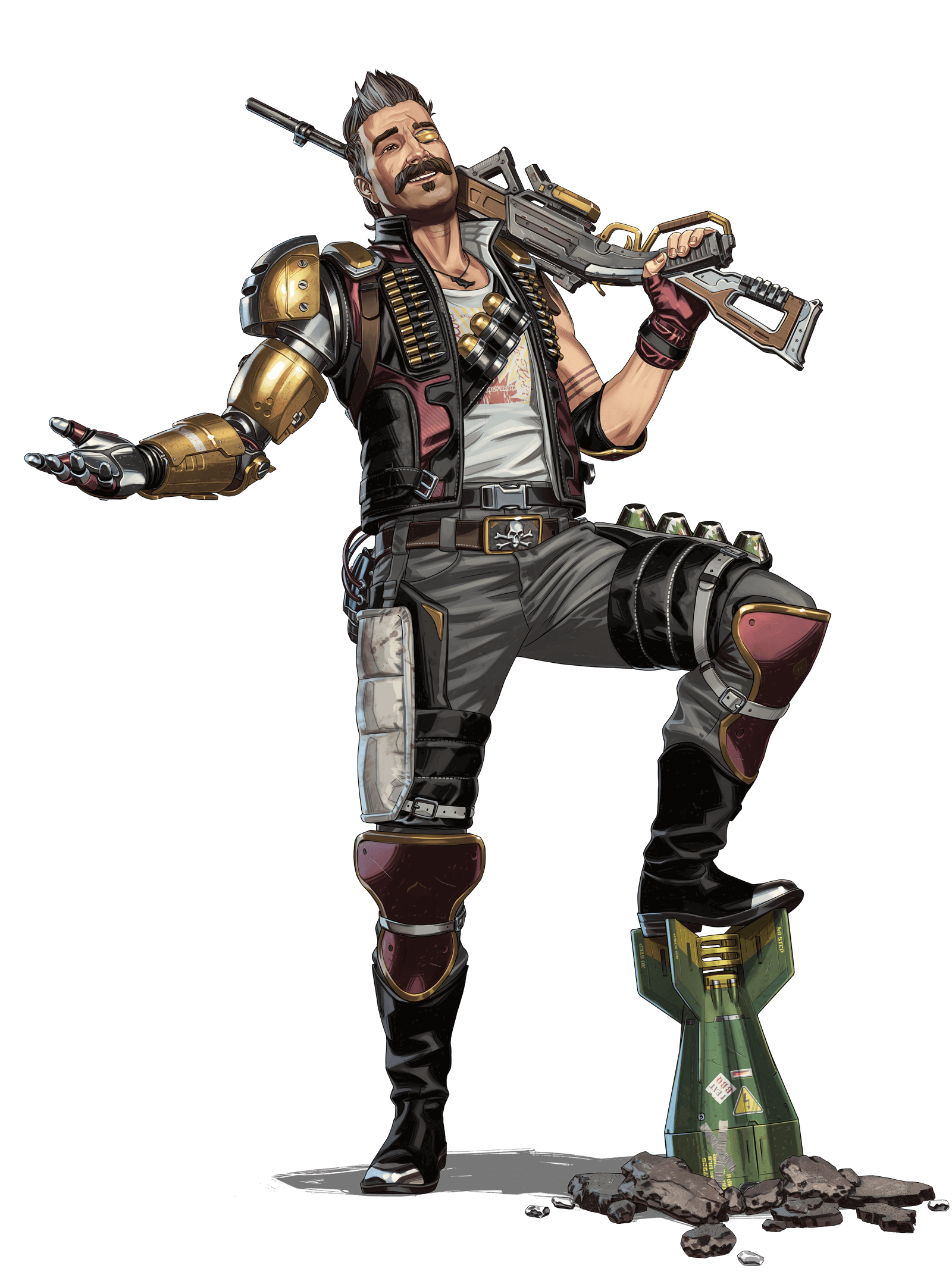 APEX Legends - Fuse Character Art
