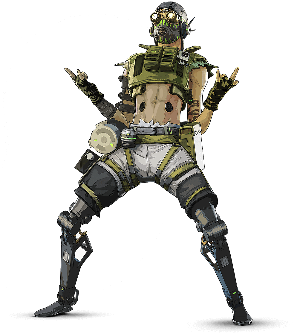 APEX Legends - Octane Arte del personaje