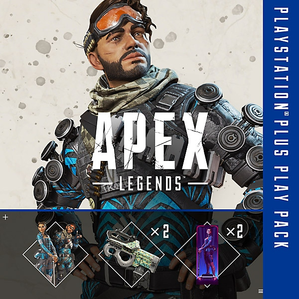 APEX Legends - PlayStation Plus Pack - Store Art