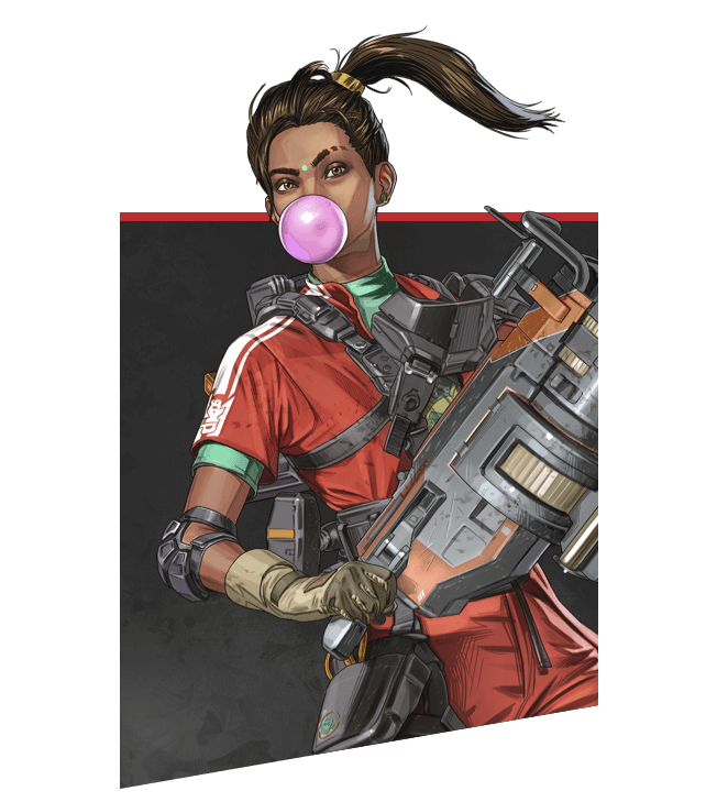 Apex Legends - Retrato de Rampart