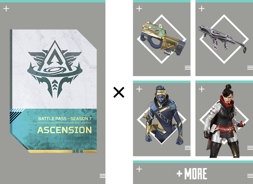 APEX Legends - Season 6 Battle Pass Contents