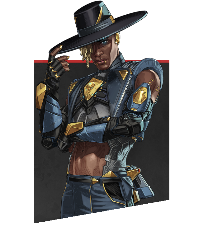 Apex Legends - Retrato de personaje Seer