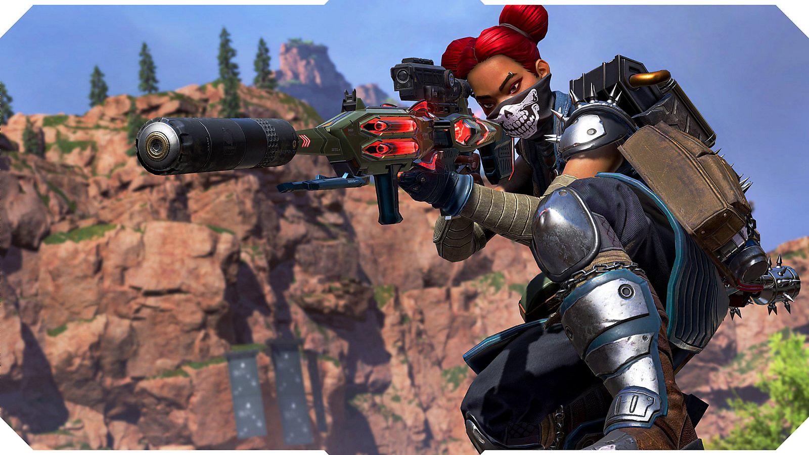 Apex Legends screenshot of Lifeline