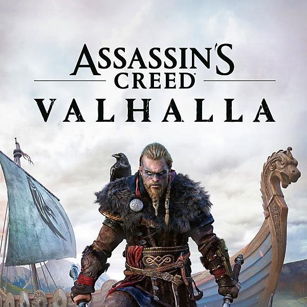 Assassin's Creed Valhalla – butiksomslag