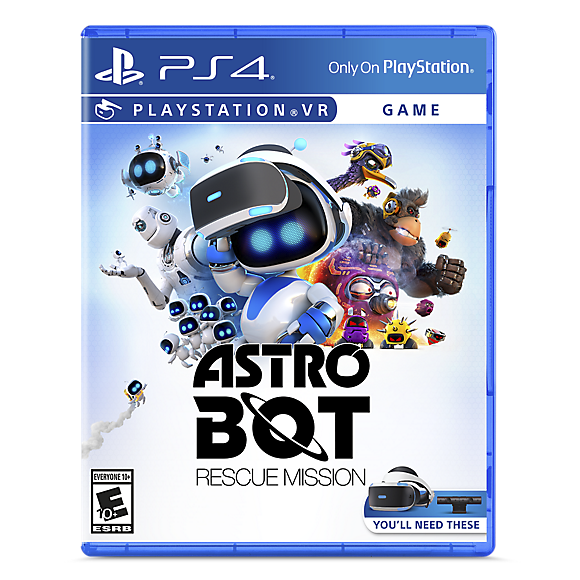 astro bot rescue mission blu ray