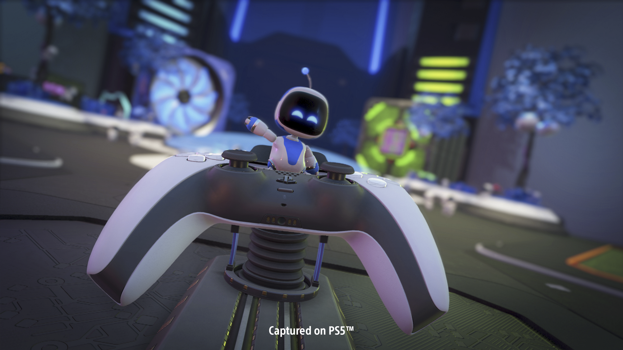 Astro's Playroom op PS5