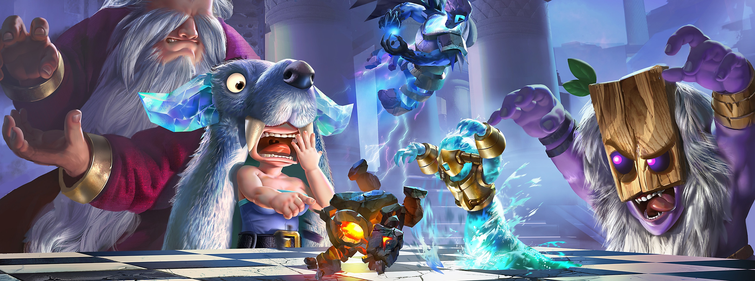 Auto Chess - Key Art