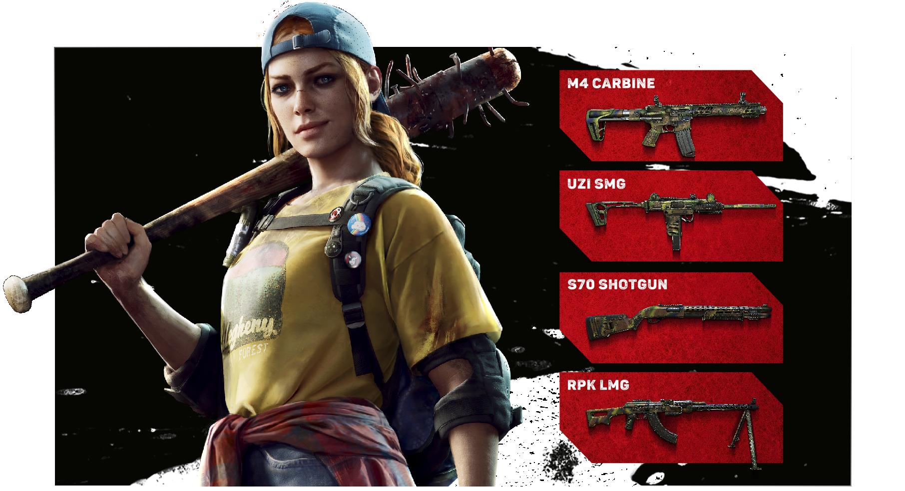 Back 4 Blood: pre-order items