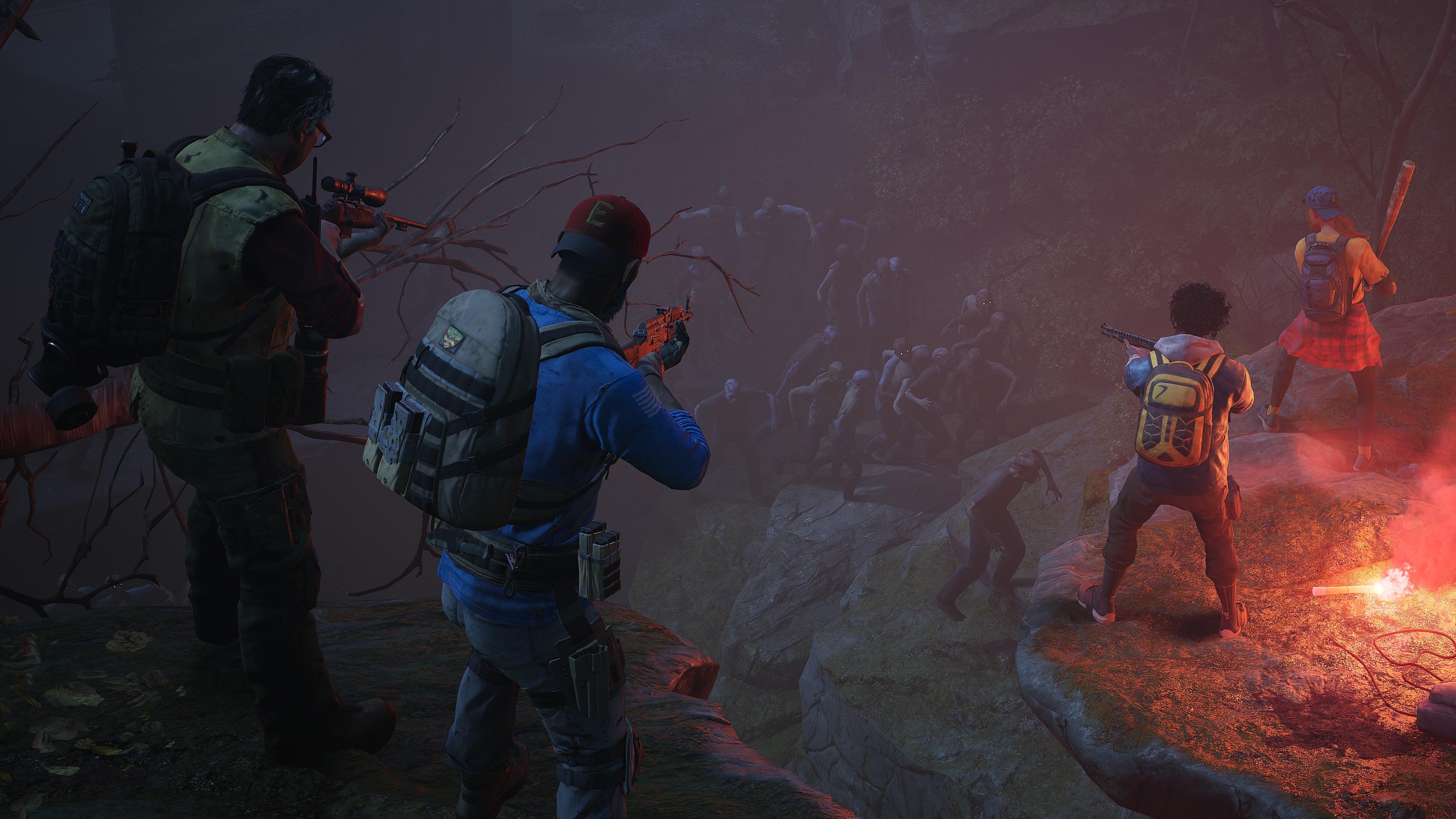 Back 4 Blood battle screenshot
