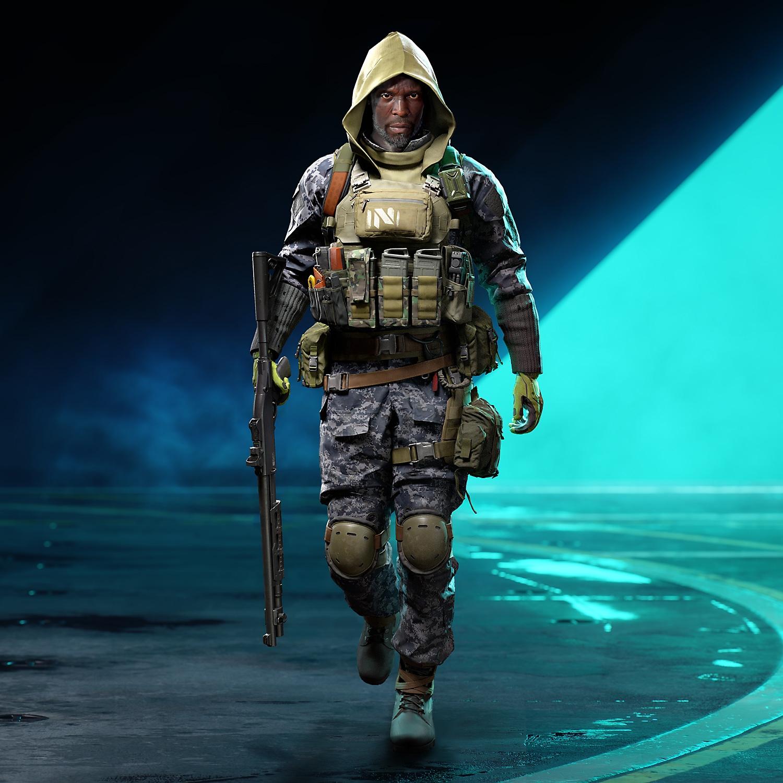Image du skin légendaire Soldat aguerri pour Irish dans Battlefield2042