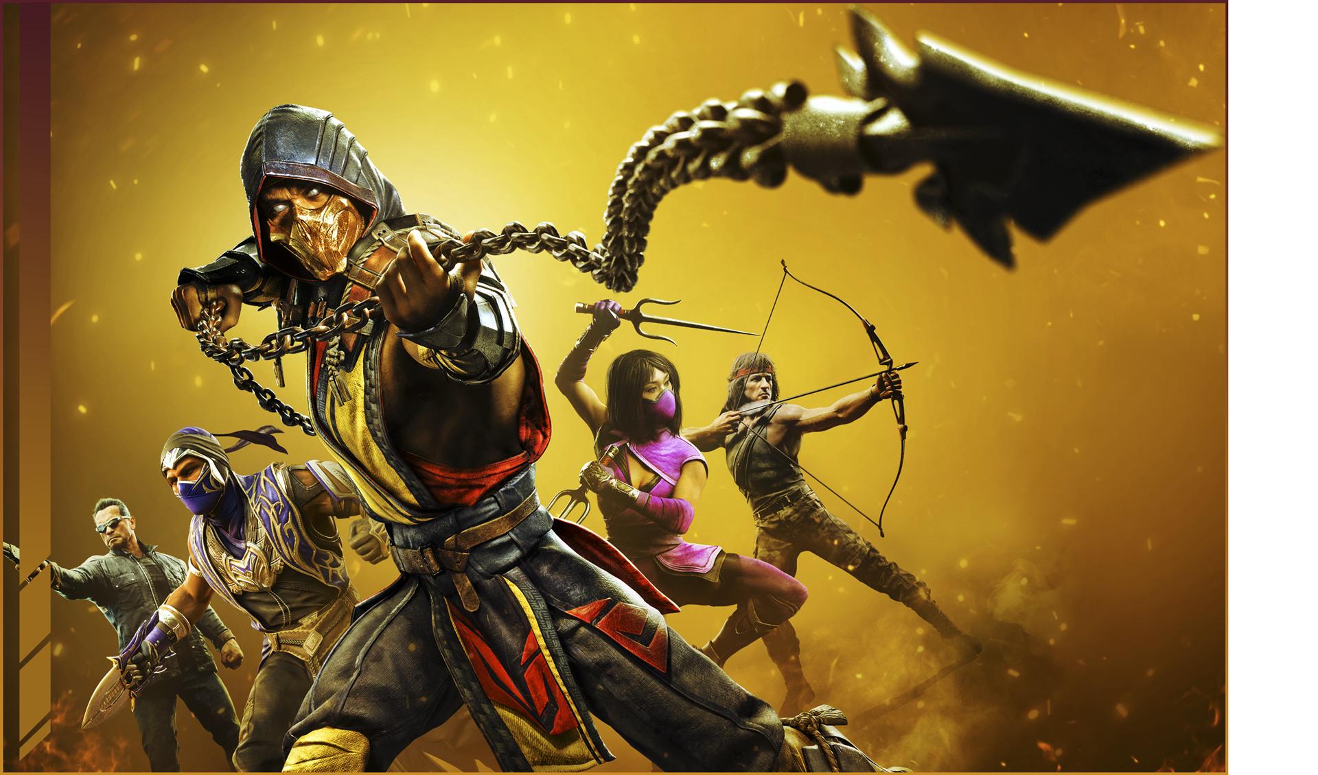 Mortal Kombat 11 Ultimate - keyart