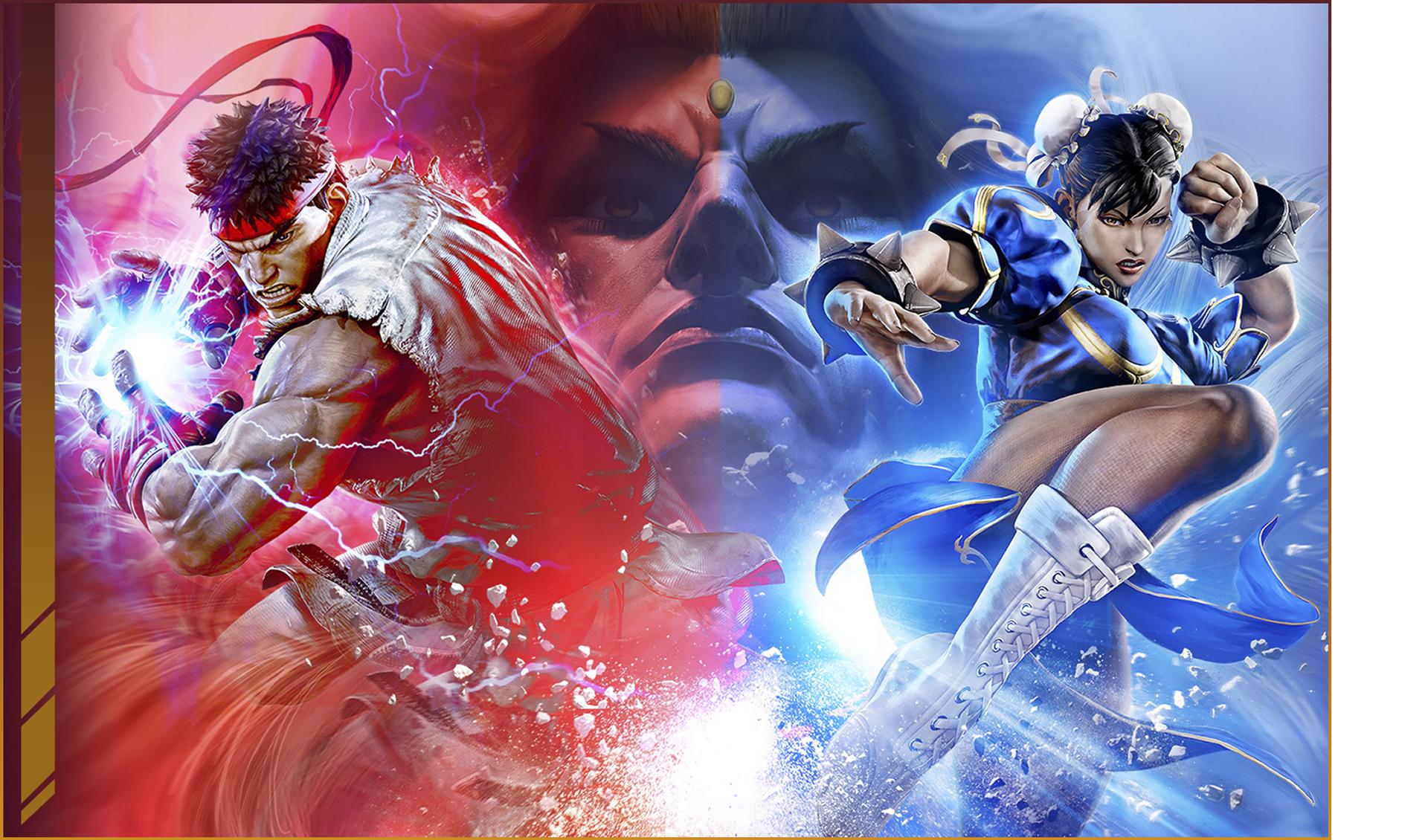 Street Fighter 5 Champion Edition keyart