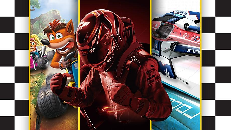PS4:n parhaat kilpa-ajopelit – promotaide