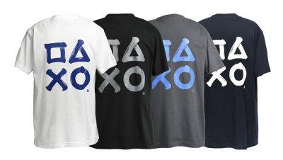 筆文字プリント TシャツA / PlayStation画像2