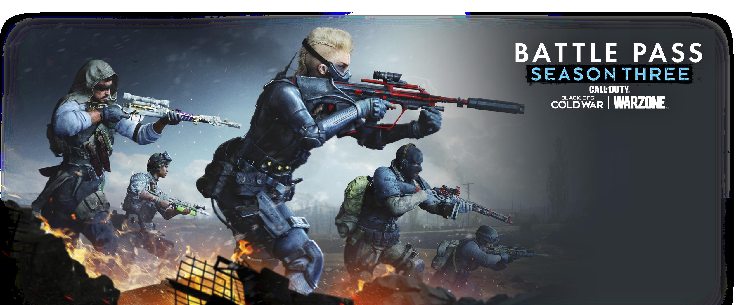 Illustrazione di Call of Duty Black Ops Cold War Stagione 3 Battle Pass
