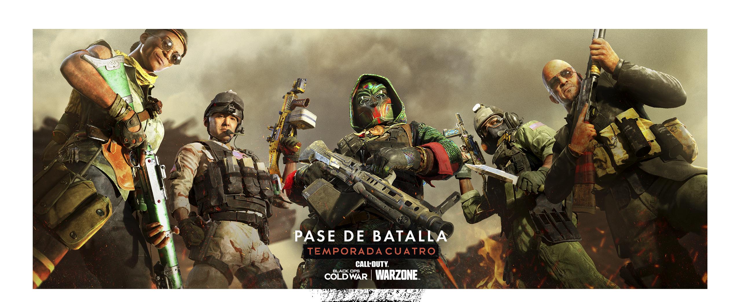 Ilustración del Pase de Batalla de Call of Duty