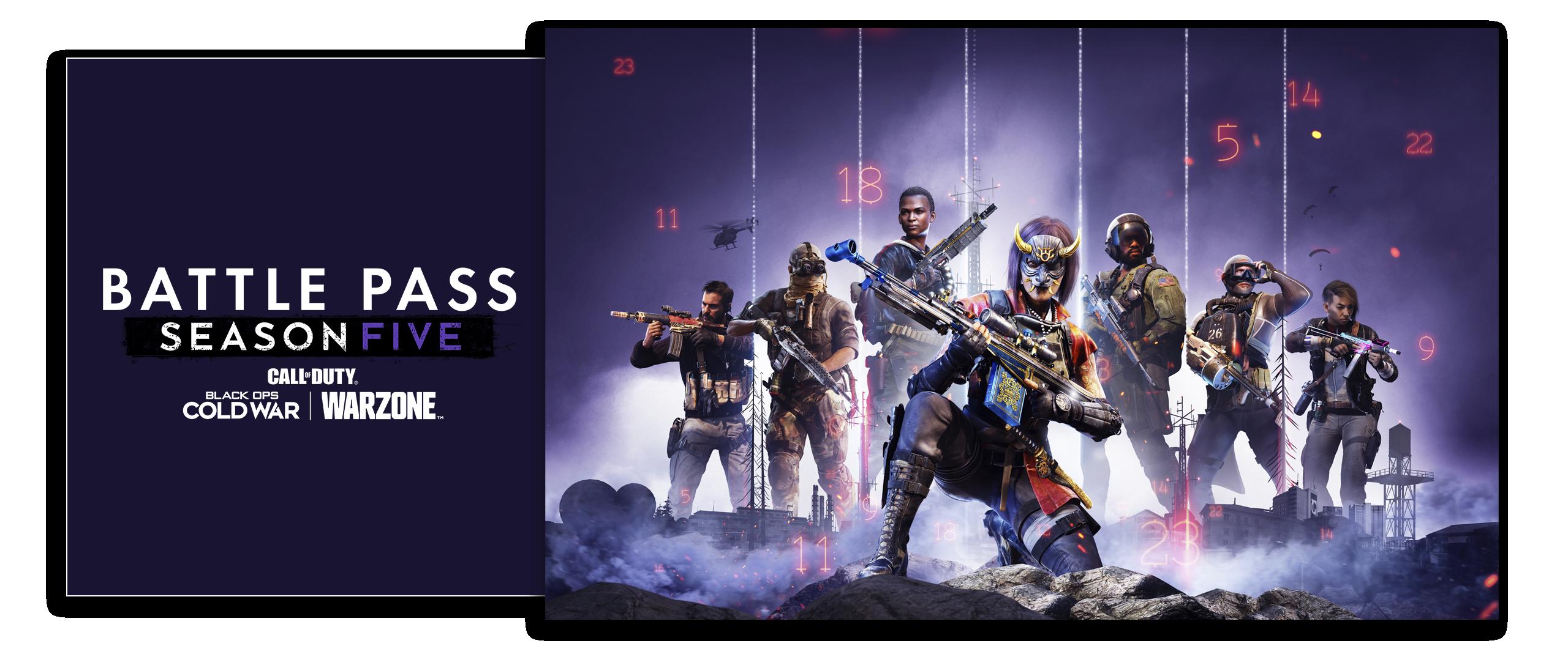 Call of Duty Black Ops Cold War Season 5 Battle Pass artwork