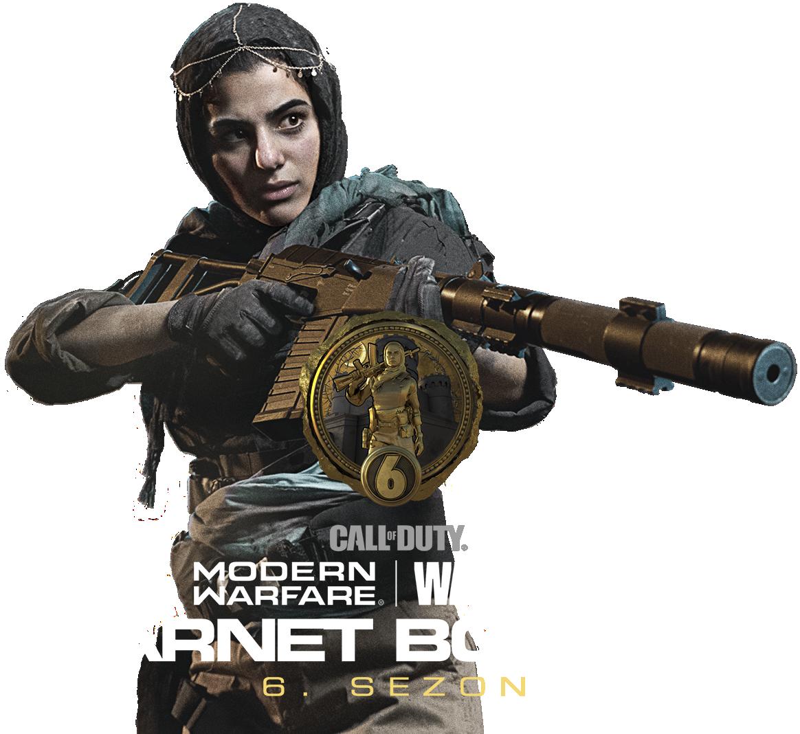 Karnet bojowy Call of Duty Modern Warfare