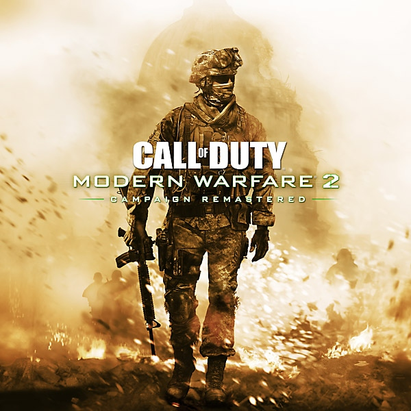 Call of Duty Modern Warfare 2 Campaign Remastered - box art