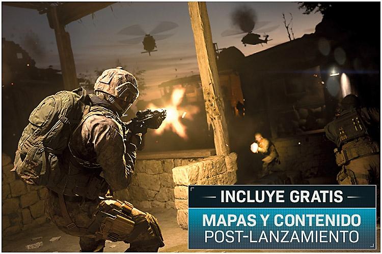 Call of Duty: Modern Warfare - Captura de pantalla de gameplay