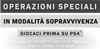 Call of Duty: Modern Warfare - Logo vantaggi PS4 Operazioni speciali